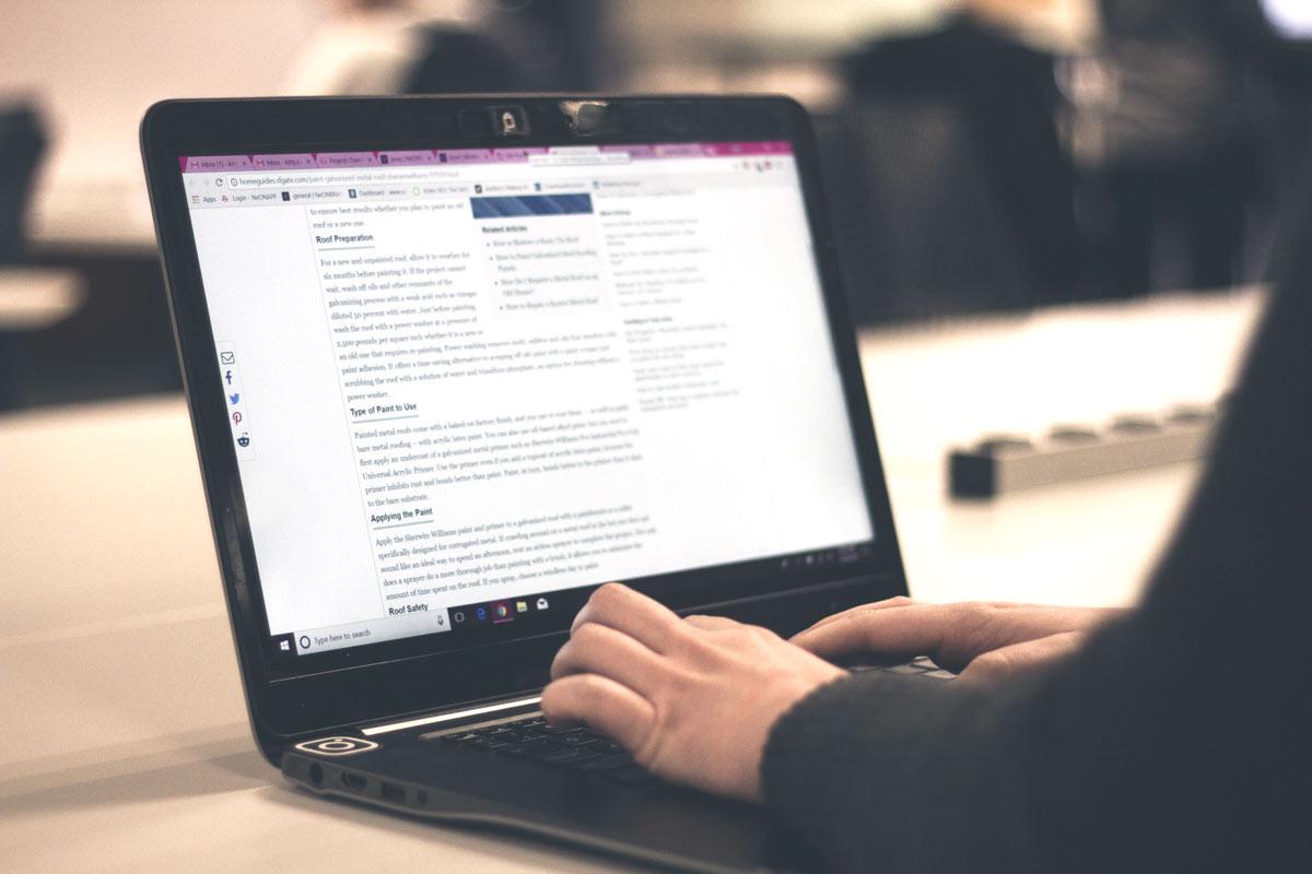 Cinque cose da fare per scrivere articoli perfetti per il web